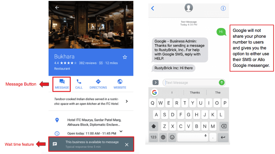 Personalized Engagement of Google business