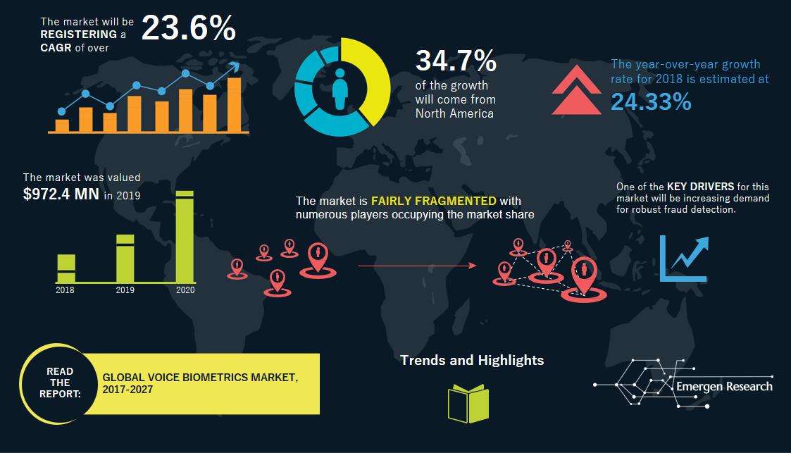Voice Biometrics Infographic